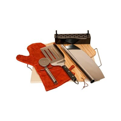 8 Piece Premium Outdoor Pizza Kit