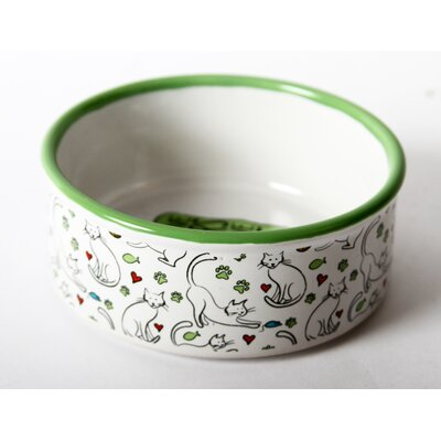 Mr. Snugs Cat Feeding Bowl