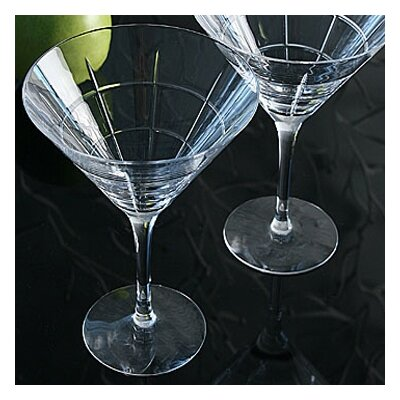 Orrefors Street Martini Glass (Set of 2)