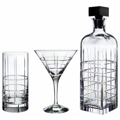 Orrefors Street Barware  Collection