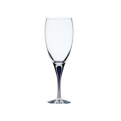 "Orrefors Intermezzo Blue 8.63"" Wine Glass"