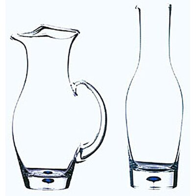 Orrefors Intermezzo Blue 38 oz. Wine Carafe