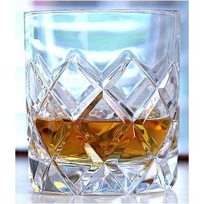 "Orrefors Sofiero 3.75"" Double Old Fashion Glasses (Set of 2)"
