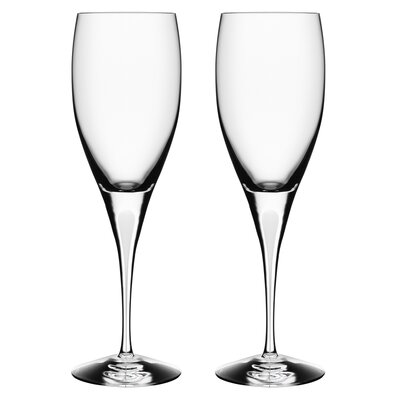 Orrefors Intermezzo Satin Wine Glass (Set of 2)