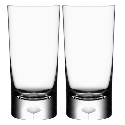 Orrefors Intermezzo Satin Tumbler (Set of 2)