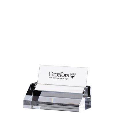 Orrefors Wall Street Bus Card Holder