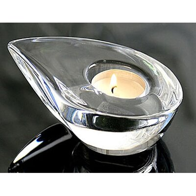 Orrefors Drop Crystal Tealight Holder