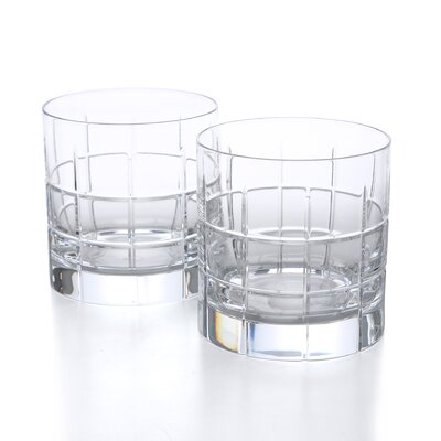 <strong>Orrefors</strong> Street Double Old Fashioned Glass (Set of 2)