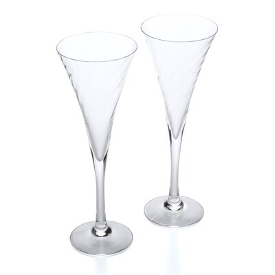 <strong>Orrefors</strong> Helena Flute Glasses (Set of 2)