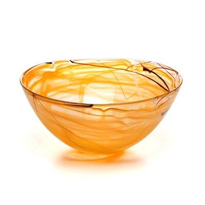 Kosta Boda Contrast Large Serving Bowl