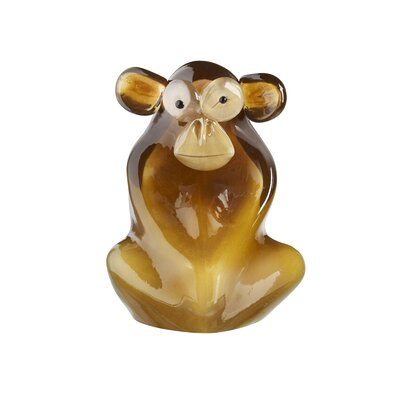 Kosta Boda My Wide Life Shock the Monkey Figurine