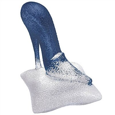 Kosta Boda Catwalk Blue Shoe Sculpture
