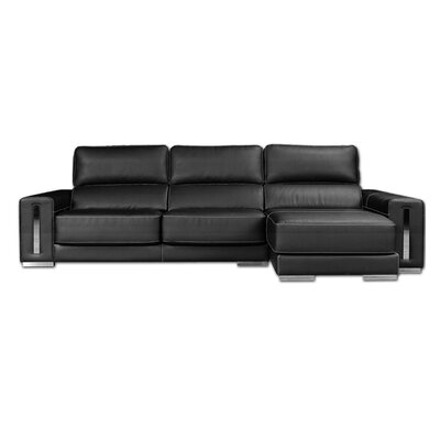 Luxury Savoy Sectional - Top Grain Italian Leather