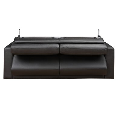 Eurosace Luxury Penta Leather Sleeper Sofa