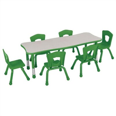 Brite Kids Quick Ship: Classroom Rectangular Table
