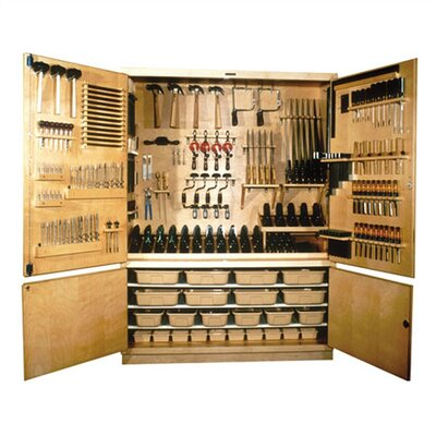 Shain Large Woodworking Tool Storage Cabinet