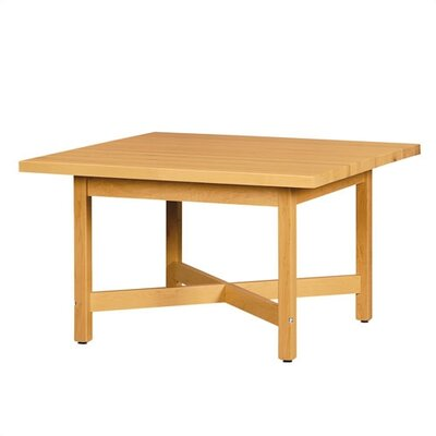 "Shain Elementary Four Station ""X"" Table"