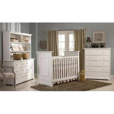 Muniré Furniture Chesapeake 3-in-1 Convertible Crib Set
