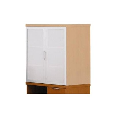 "ABCO Unity Executive Series 36"" Freestanding Mixed Storage Cabinet"