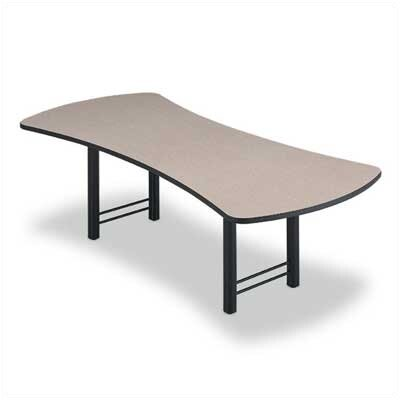 "ABCO 96"" Wide Presentation Top Conference Table with H Base"