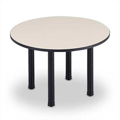 ABCO 60&quot; Diameter Round Top Conference Table with Designer Base