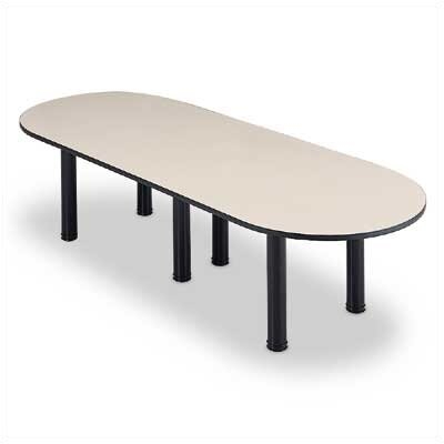 "ABCO 144"" Wide Oval Top Conference Table with Designer Base"