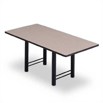 "ABCO 72"" Wide Rectangle Top Conference Table with H Base"