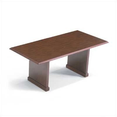 "ABCO 72"" Wide Rectangle Top Traditional Table"