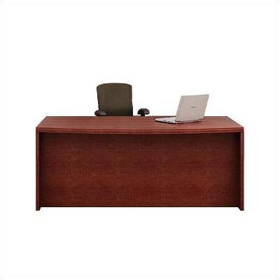 ABCO Unity Arc Full Left Pedestal Executive Desk with 2 File Drawers