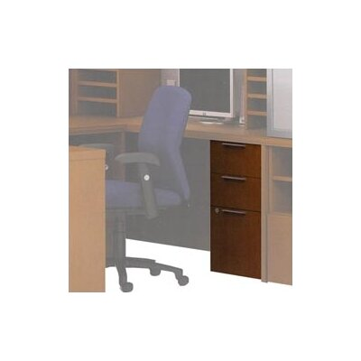 ABCO Unity Executive Wood Mobile Pedestal, Box/Box/File