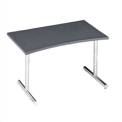 "ABCO Smart Tables: 30"" x 48"" Concave Wave Conference Kit"