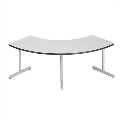 "ABCO Smart Tables: 30"" x 60"" High-Pressure Laminate Arc Conference Table"