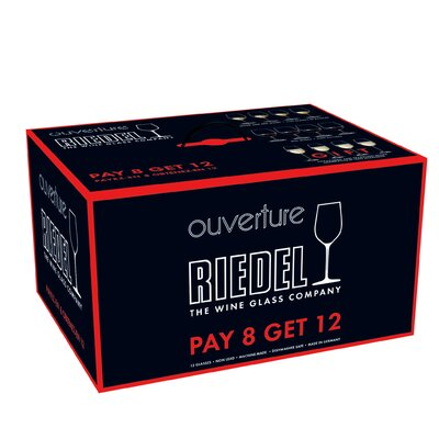 Riedel Ouverture 12 Piece Wine and Champagne Glass Set