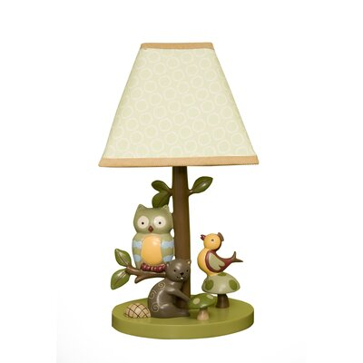 Lambs & Ivy Enchanted Forest Table Lamp with Shade