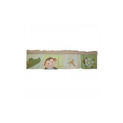 Lambs & Ivy Papagayo Window Curtain Valance