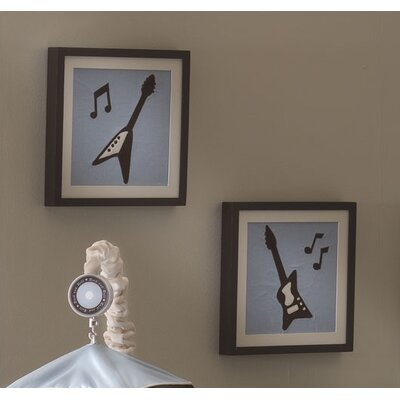 Lambs & Ivy Rock 'N Roll Wall Décor