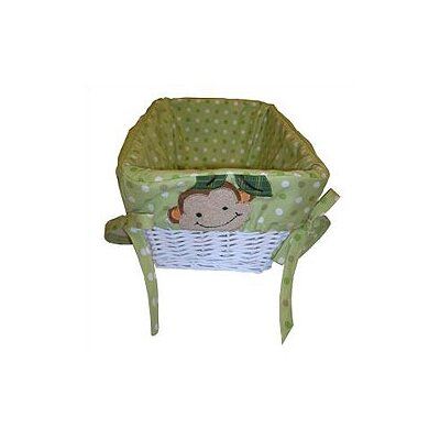 Lambs & Ivy Papagayo Basket with Liner
