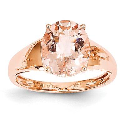 Goldia 14k Rose Gold Morganite Ring
