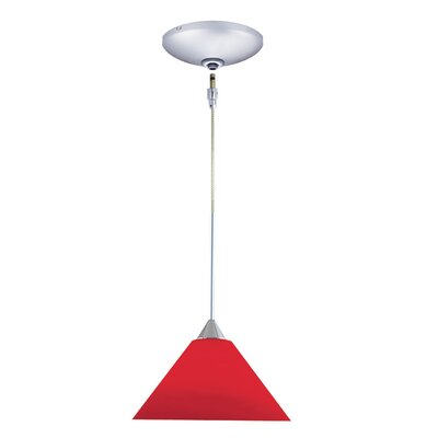 Jesco Lighting Selma 1 Light Pendant and Canopy Kit