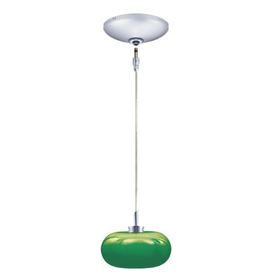 Jesco Lighting Jolly 1 Light Pendant and Canopy Kit