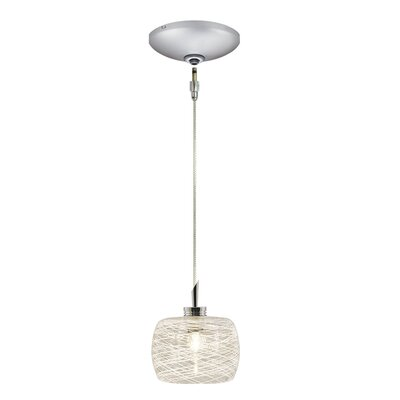 Jesco Lighting Ally 1 Light Pendant and Canopy Kit