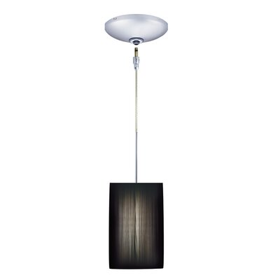 Jesco Lighting Tao 1 Light Pendant and Canopy Kit