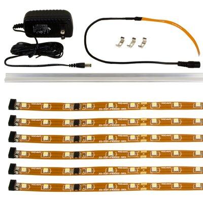 Flex Up 72 LED Under Cabinet Tape Light Wayfair