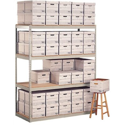 Penco Record Storage 4 Shelf Shelving Unit Add-on