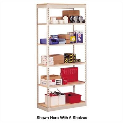 Penco Single Rivet Shelving Units - 8 Shelf Starter Unit