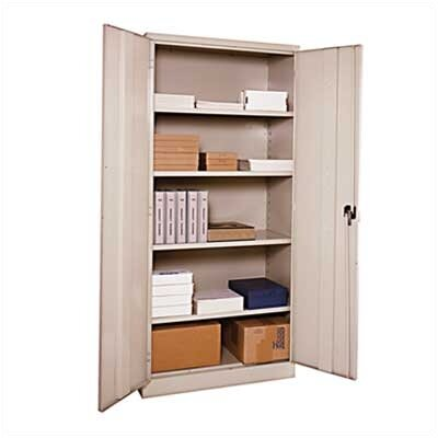 Penco E-Z Bilt Storage - Assembled Storage Cabinets with Recessed Handle