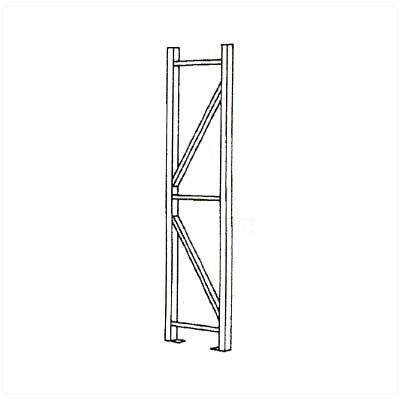 Penco Tire Rack Upright Frames - For Single Entry Units (with Footplates)