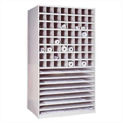 Penco Special Purpose Units - Plan Storage Shelving Basic Unit
