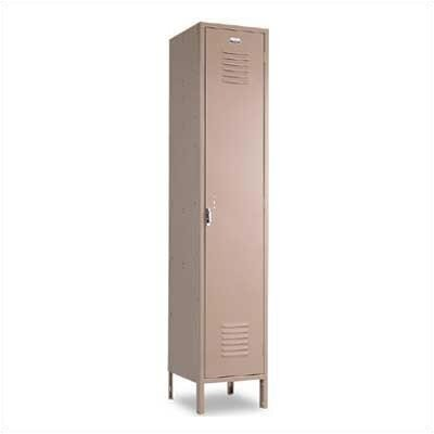 Penco Vanguard Single Tier 1 Wide Locker (Unassembled)