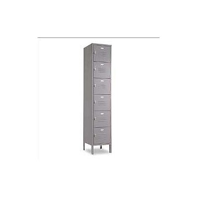Penco Vanguard Unit Packaged Lockers - Six Tiers - 1 Section - (Unassembled)